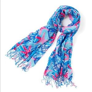 Lilly Pulitzer Murfee Scarf in She She Shells